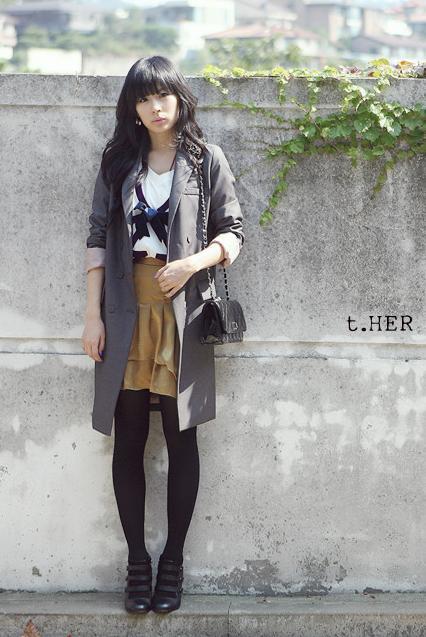 08秋季女装韩国风格搭配图