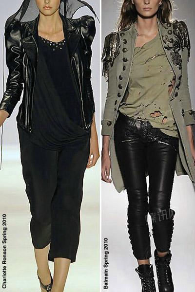 2011春夏女装流行趋势分析:粗犷的浪漫(夹克)_服装图片