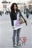 阳春三月街拍运动鞋搭配明星味6.