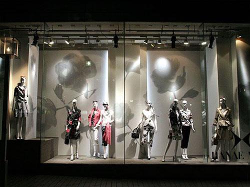 布料店橱窗设计