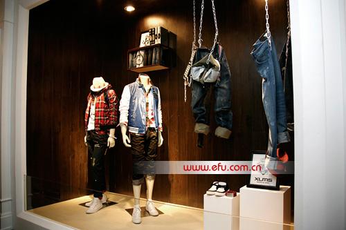 罗蒙旗下喜丽美狮2010最新橱窗展示