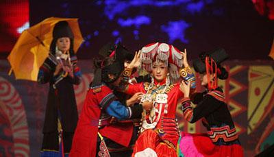 中国凉山彝族服饰时尚设计大赛组图