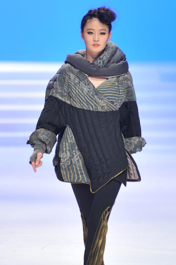 北京服装学院/台湾实践大学2011毕业生设计作品发布