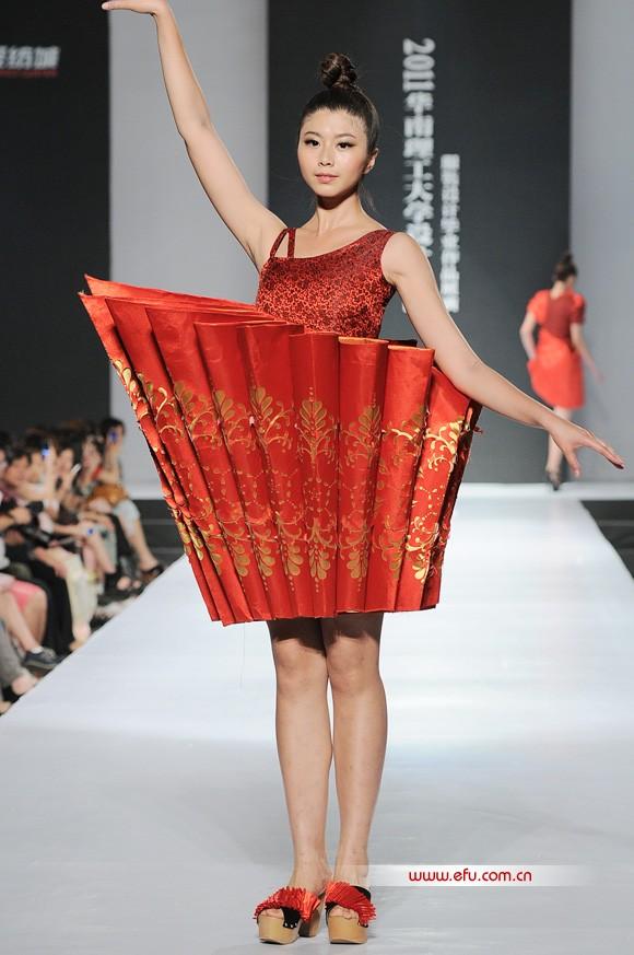 华南理工大学设计学院服装设计毕业作品展演在广州国际轻纺城如期开演