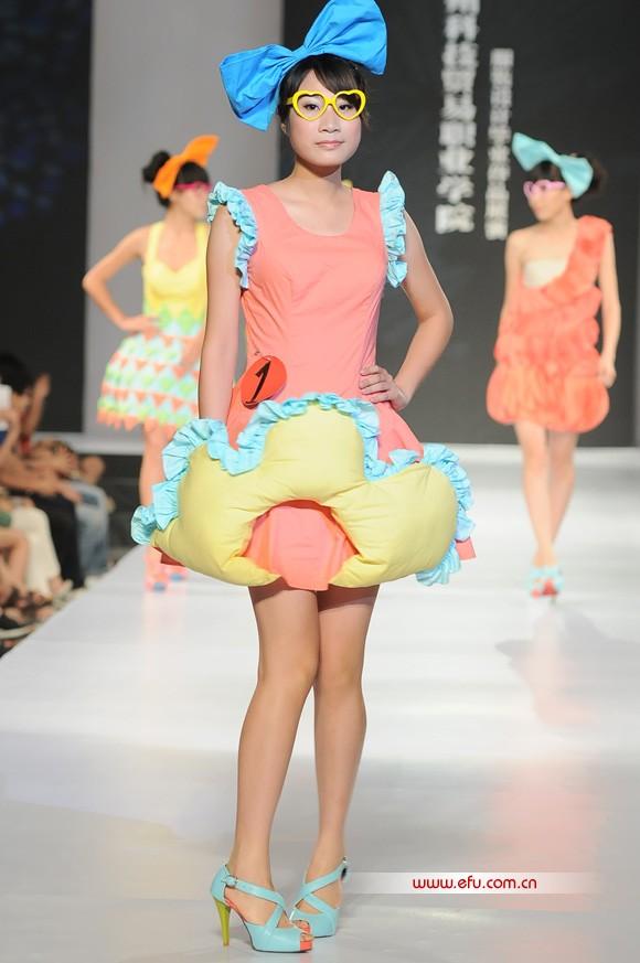 2011广州科技贸易职业学院服装设计毕业作品展演
