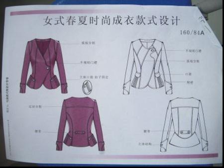 > 2011年中职服装技能大赛款式设计