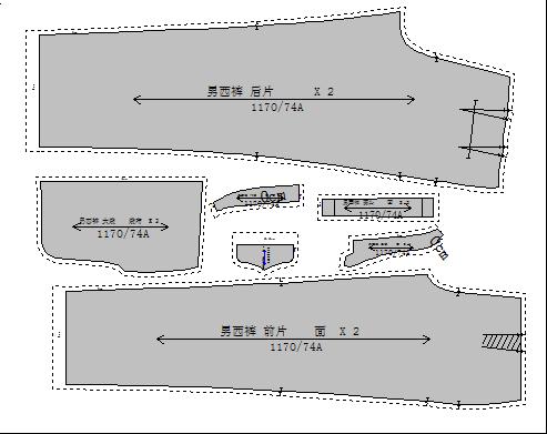 富怡CAD入门操作男文字西裤_服装百事通cad制板v文字图片