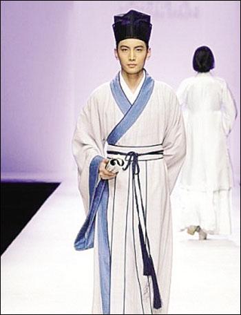 古代服饰演绎中国传统文化特色