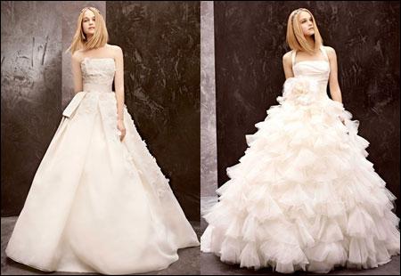 新娘的梦幻婚礼 vera wang婚纱晚礼服系列