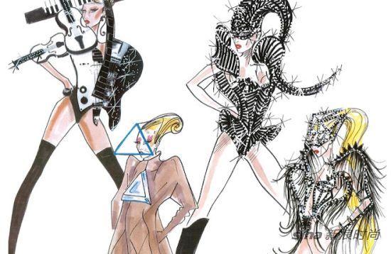 纸上生花 设计师手稿演绎时尚的最初_服装百事通