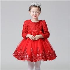 冬季公主裙