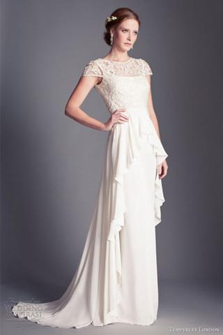 Temperley London 2013「佛罗伦萨新娘」系列婚纱