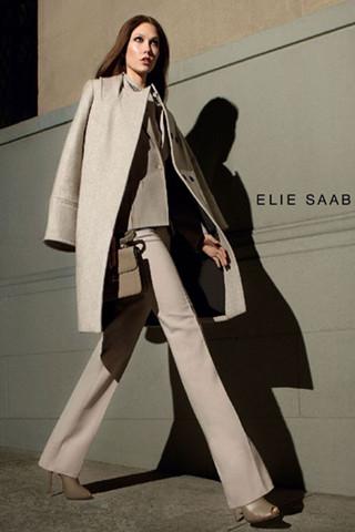 Elie Saab 2012秋季新季大片