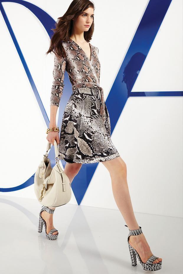 DVF 发布2014早春度假系列时尚型录