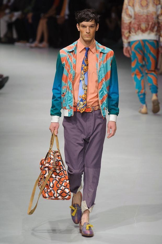 Vivienne Westwood 2014米兰男装秀