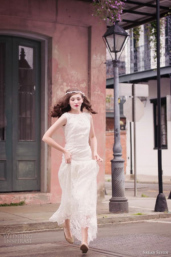 Sarah Seven 2014春夏系列婚纱LookBook