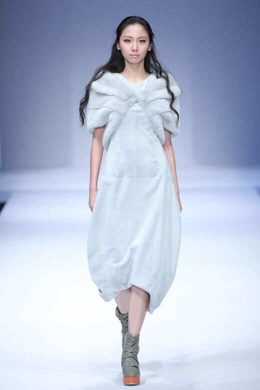 中国国际时装周 哥本哈根皮草2015春夏时装发布会
