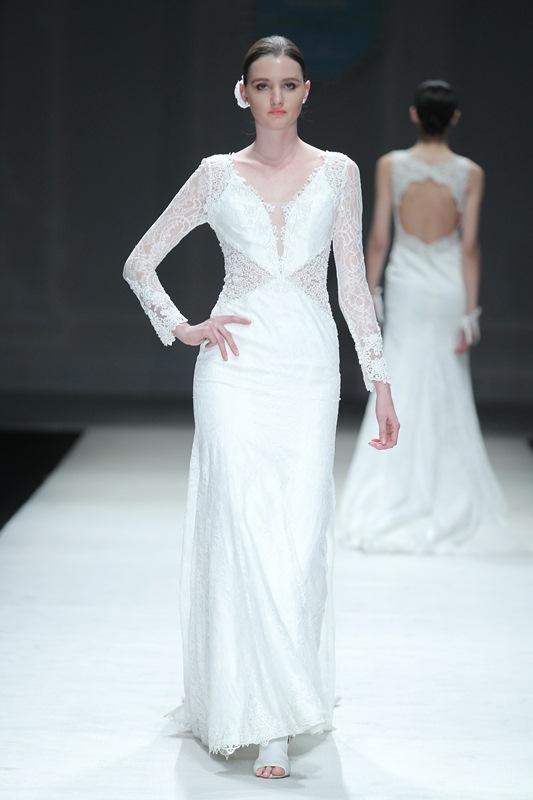 新娘圣洁的歌颂 AOLISHA·魏新坤婚纱礼服