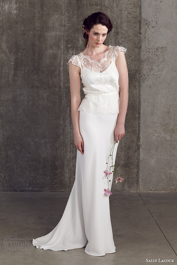 Sally Lacock 2014婚纱系列时尚型录