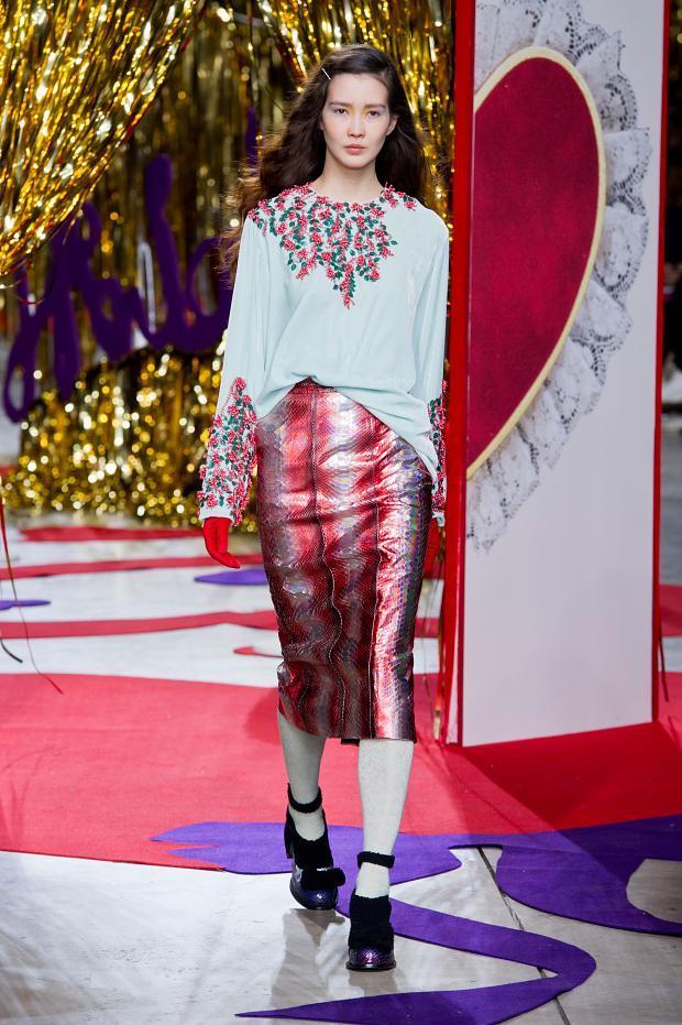 Meadham Kirchhoff 2014秋冬女装秀