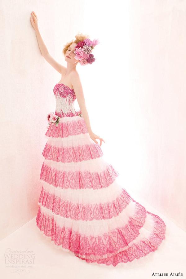 Atelier Aimée 2014「Verde Tiffany」婚纱系列