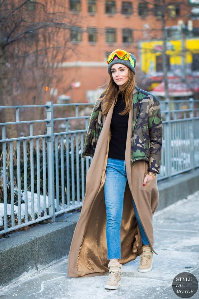 一件及踝大衣 完美搭配要风度也有温度