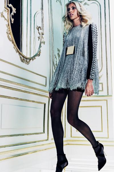 巴黎也有大蜜范儿 巴尔曼(Balmain)2015早秋女装系列