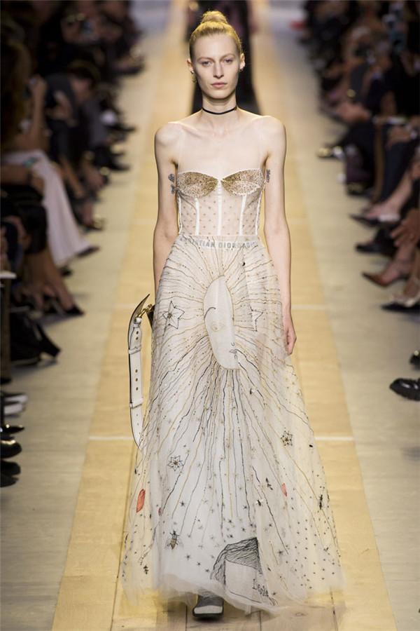 Christian Dior 2017春夏巴黎时装周大秀 女权主义