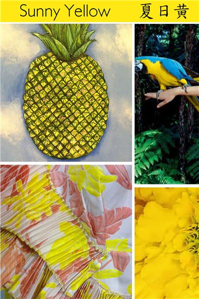 2018春夏色彩流行趋势预测:拉丁美洲色彩之盛夏的狂欢