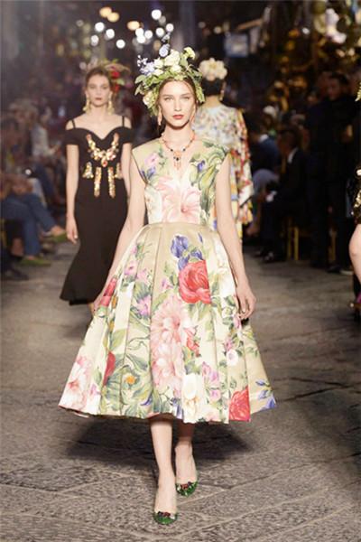 Dolce&Gabbana2016秋冬男女装高级定制秀 童话公主梦