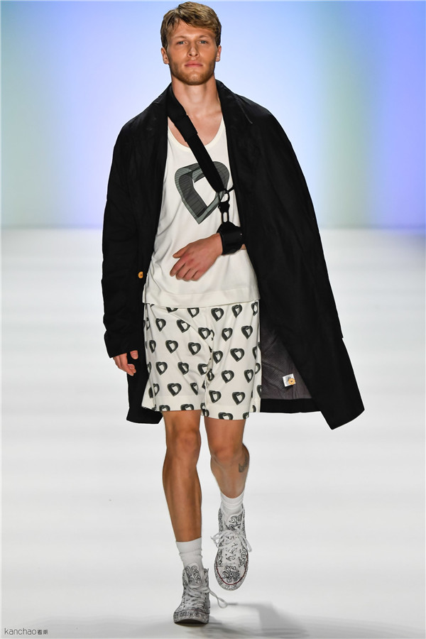 Julian Zigerli2017春夏柏林时装周男女装高级成衣系列