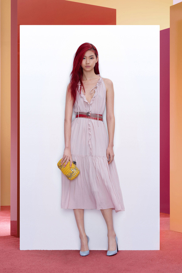 浪漫色调,Bottega Veneta 2018早秋系列