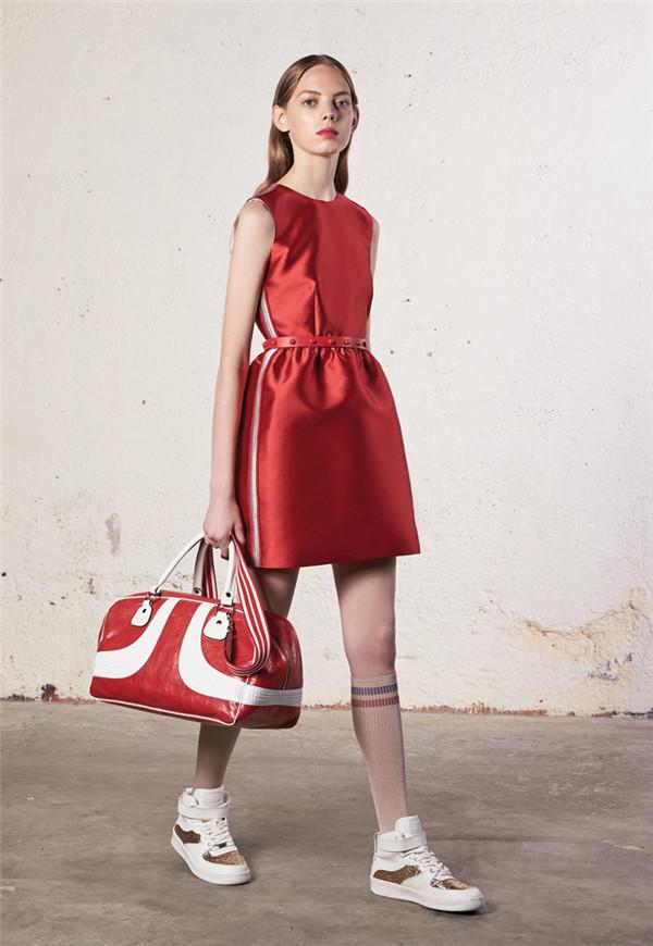 街头运动风 Red Valentino 2018早春系列时尚型录