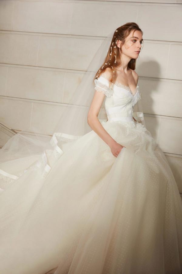 Elie Saab 2019春夏婚纱系列 维也纳上流舞会
