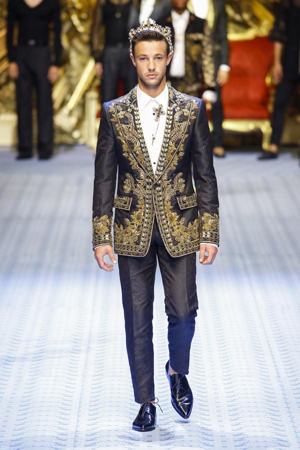 西西里的时装盛宴 Dolce&Gabbana 2019春夏男装系列时装秀
