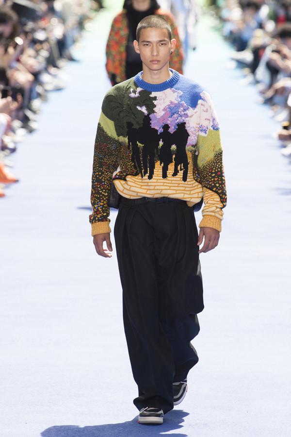 彩虹大道上的美式街头风 Louis Vuitton 2019春夏系列男装秀