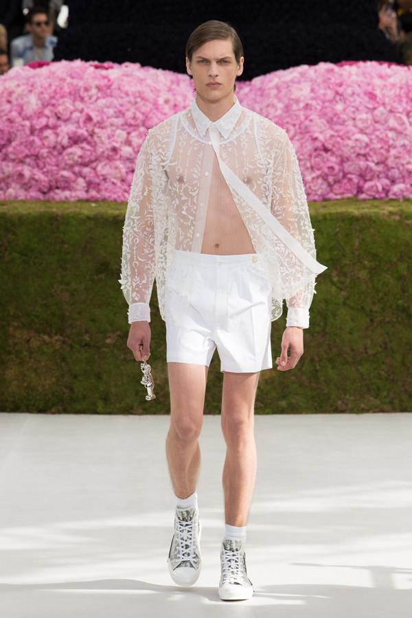风度翩翩的美少年,Dior Homme 2019春夏系列男装秀