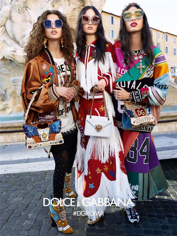 又成为街头的聚焦!Dolce & Gabbana 2018秋冬系列广告大片
