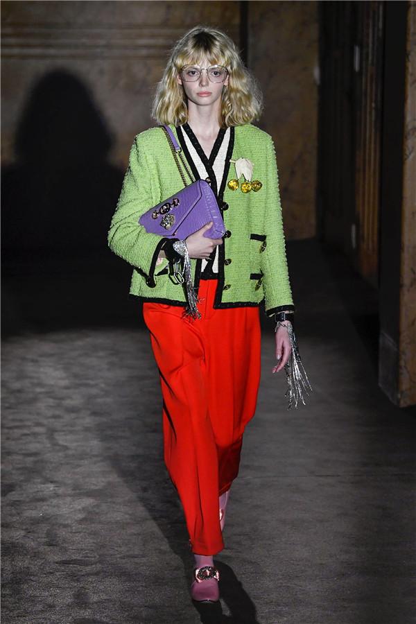 依旧复古风 Gucci 2019春夏高级成衣系列