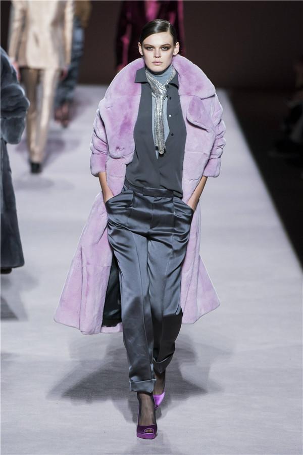 回归黄金岁月,Tom Ford 2019秋冬纽约时装秀