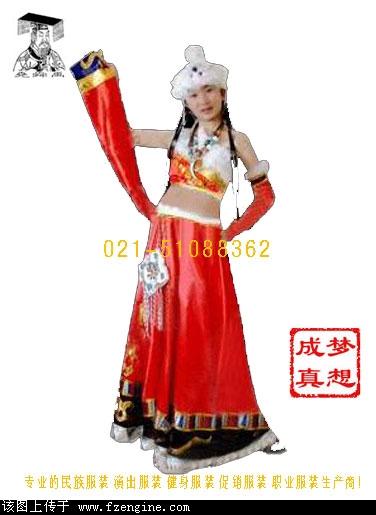 汉族服装简笔画