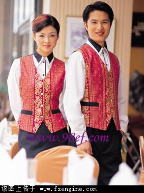 上海酒店服务员制服定制 上海酒店工作服订