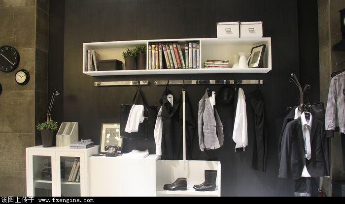 服装专卖店形象设计,服装道具设计制作,时