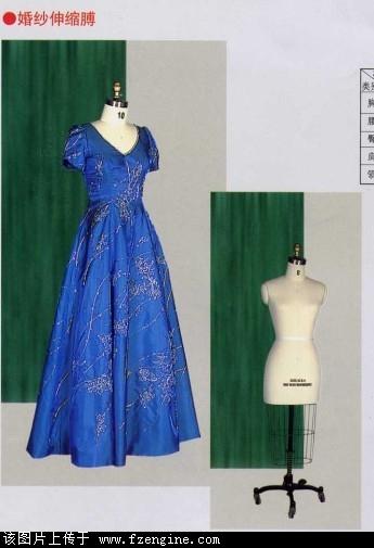 晚礼服立裁模特丨宴会服装制板模特图片