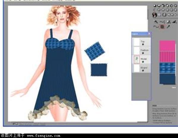 服装设计模块
