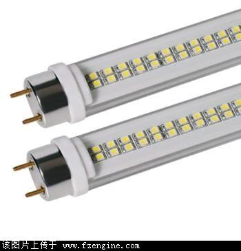 传统电感日光灯管,启动慢,闪烁多次才能完全点亮.