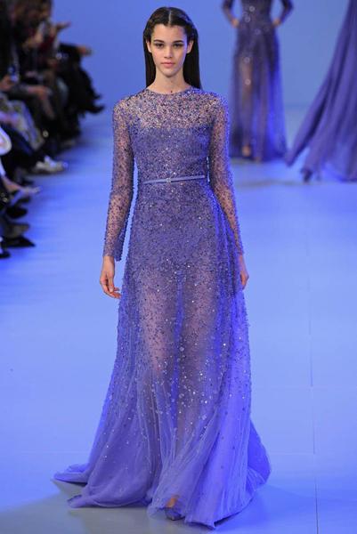 黎巴嫩高定服装设计大师:艾莉·萨博