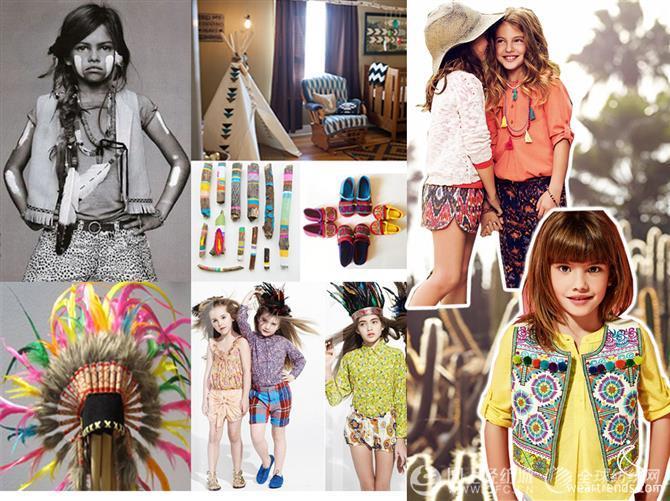 2014年春夏童装流行趋势:时尚个性