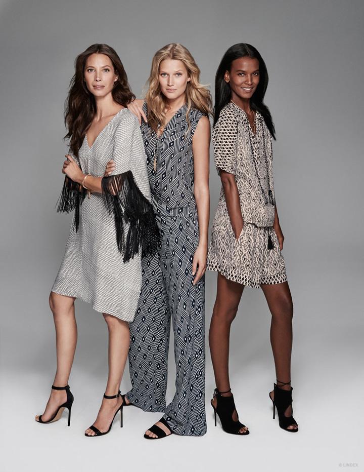 瑞典时尚品牌Lindex发布2015春夏系列广告大