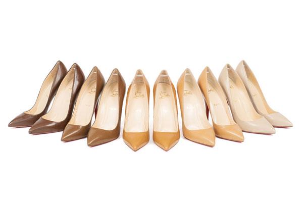 Christian Louboutin全新裸色系列高跟鞋1.jpg
